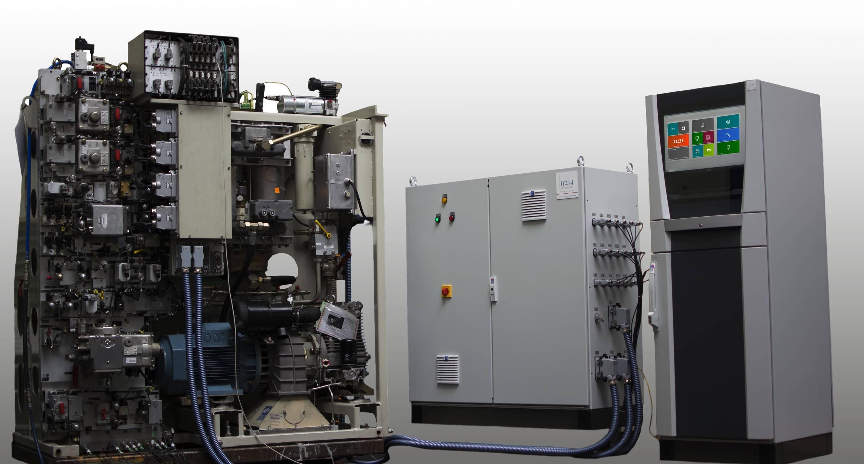 Anwendung: Universal-Prüfstand für Druckluftgerüst
