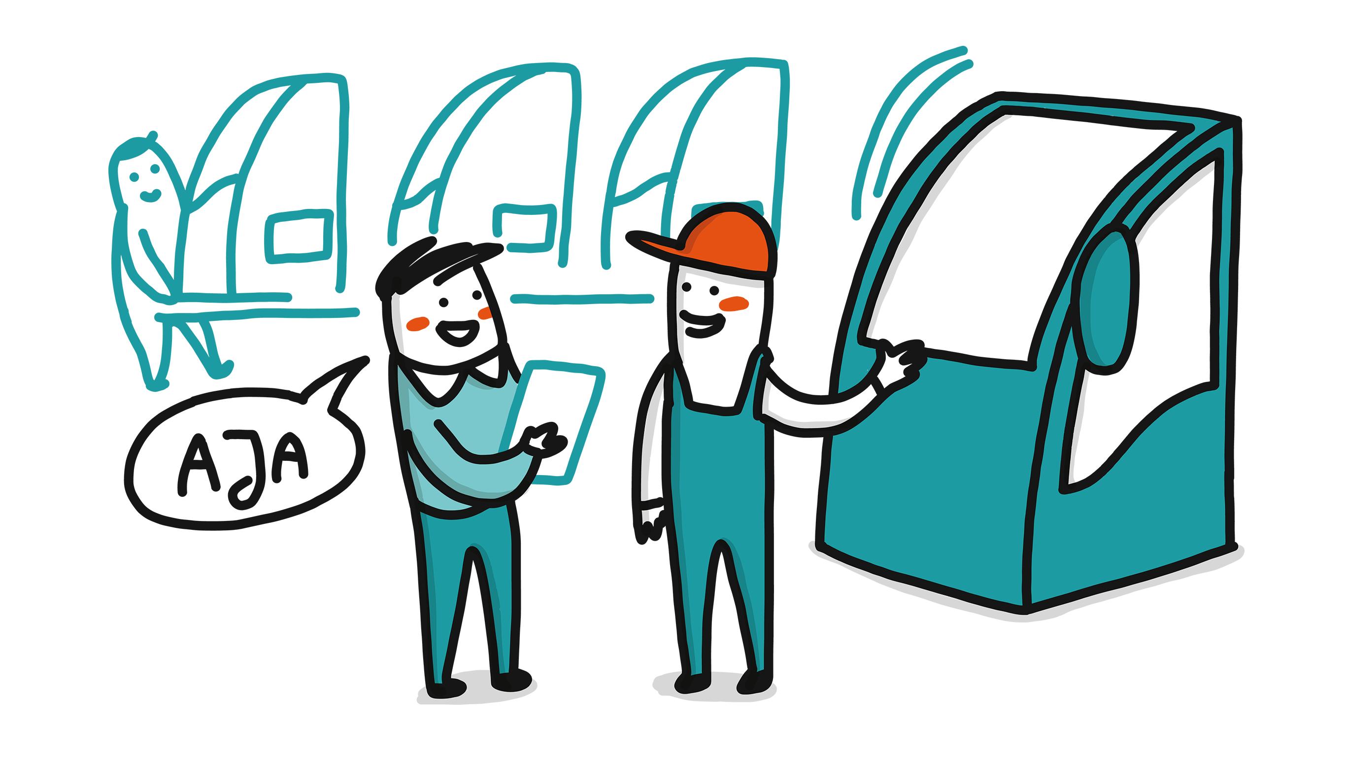 Vorgehen der IGH: Sichtung Kundenumfeld