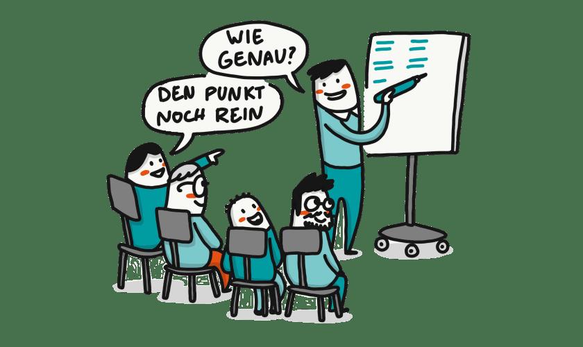 Vorgehen der IGH: Projektplanung