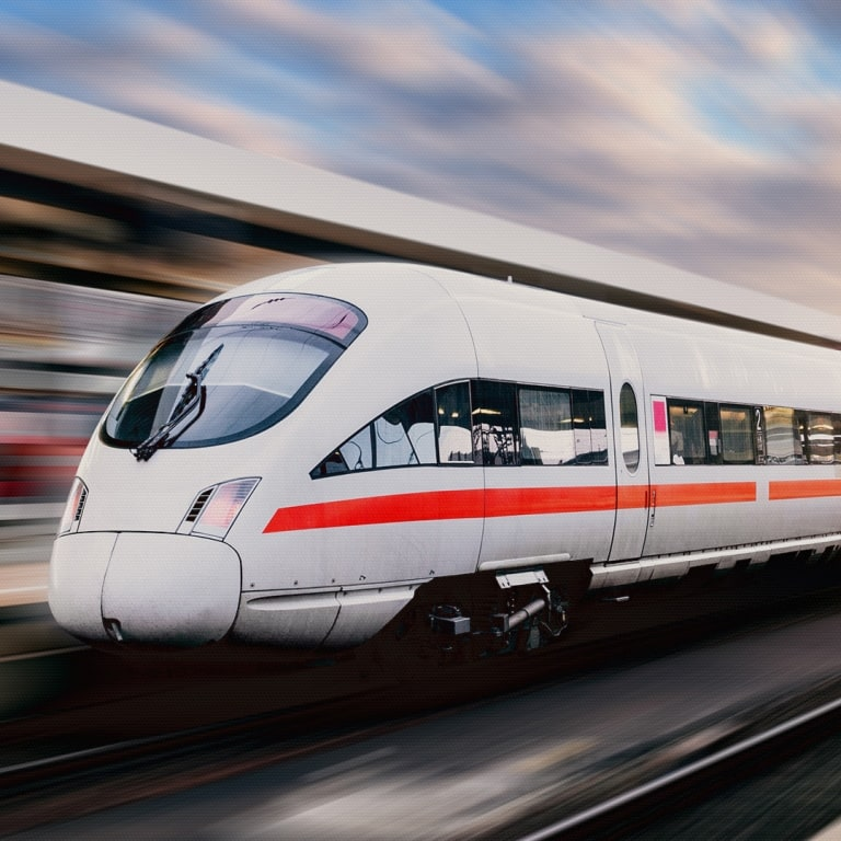 Prüfstandslösungen für die Branche Bahn