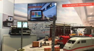 Workshop trade fair model – the eye-catcher at InnoTrans 2018