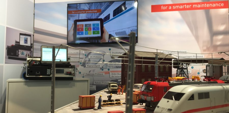 Workshop trade fair model – the eye-catcher at InnoTrans 2018