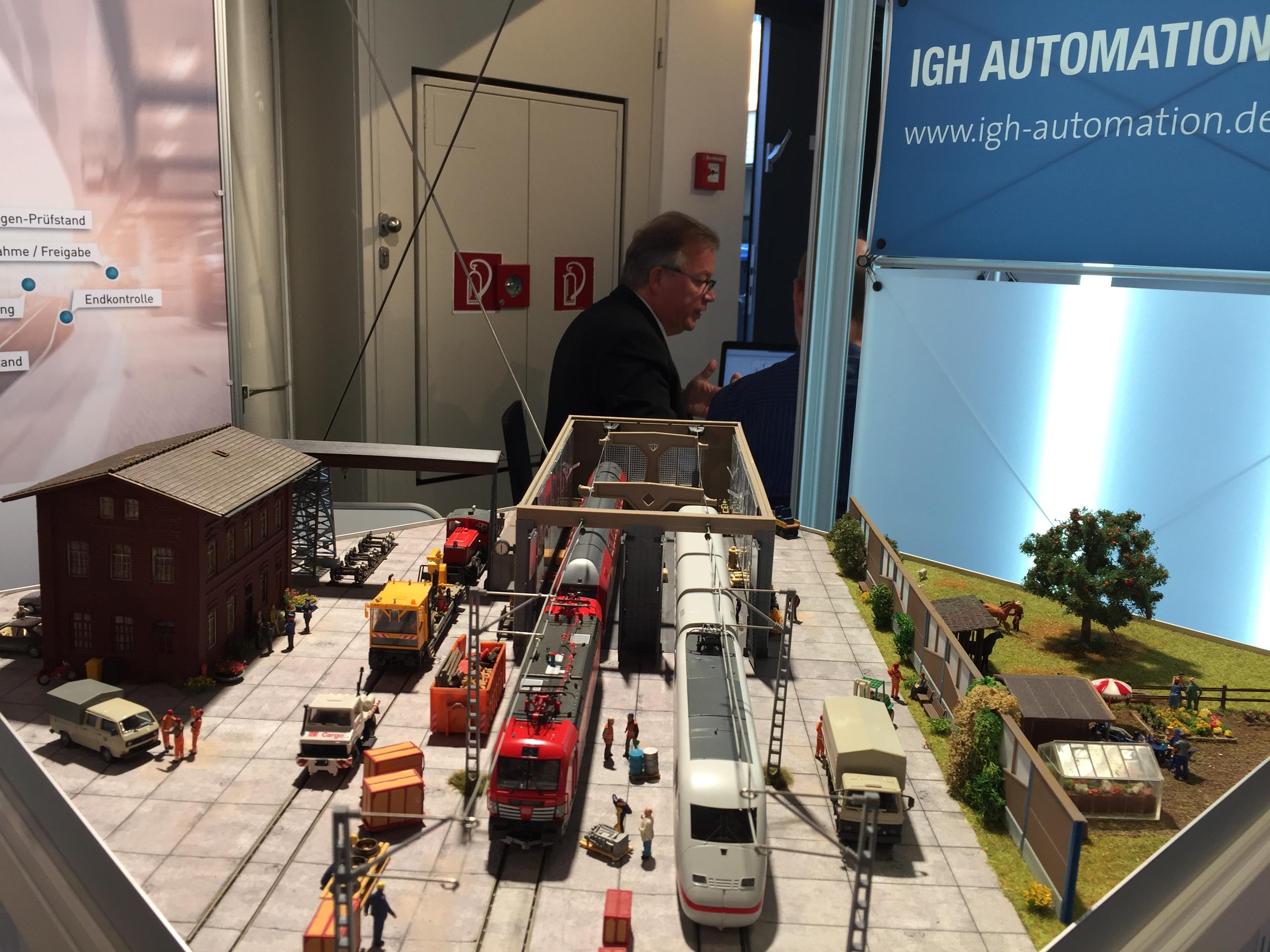 Messemodell zur InnoTrans 2018